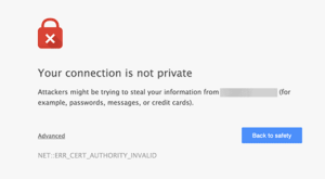 ssl is not working